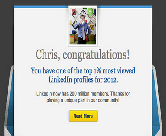 using linkedin to get a new job