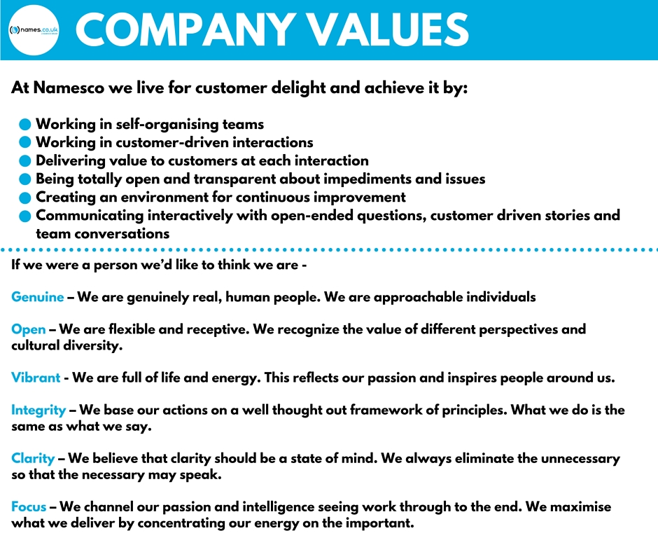 company values lr