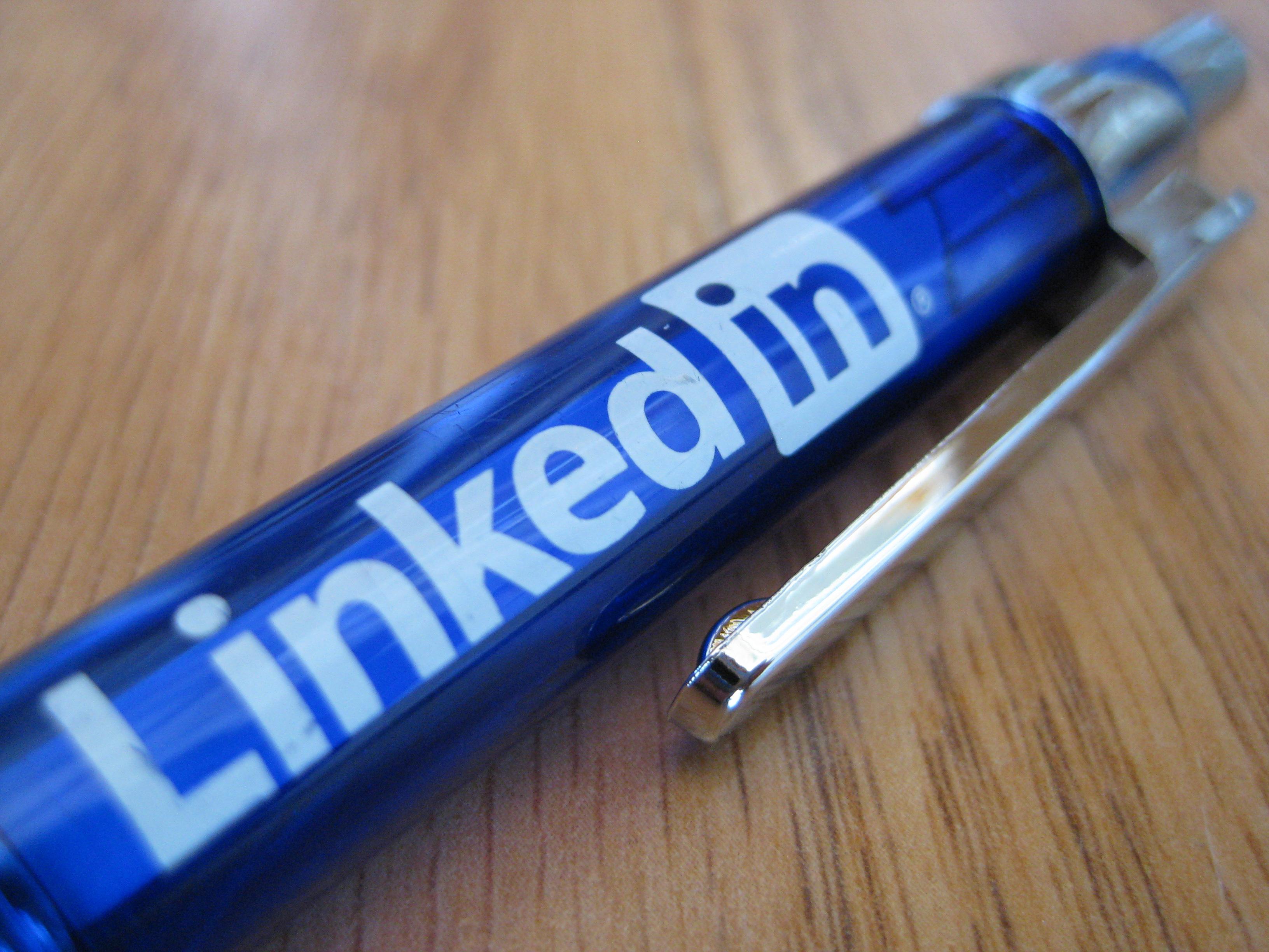 LinkedIn versus wordpress